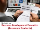 Business Development Executive (Insurance Products)